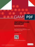 GAMSAT Information Booklet Sep