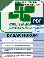 Manajemen Fasilitas dan Keselamatan (MFK th 2016.pptx