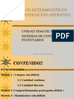 Inventarios Modelos Dterministicos