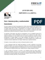 FIDESBURó - Anticipo Impuesto Renta