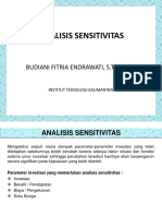 13 - Analisis Sensitivitas