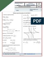Exámenes de matemática