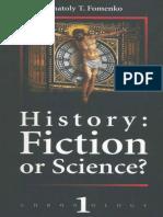 (E) Anatoly Fomenko History Fiction or Science 1