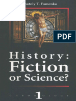 (E) Anatoly Fomenko History Fiction or Science 1