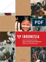 Indonesia MDG Indonesian