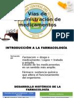 Vías de Administración de Medicamentos o Fármacos[1]