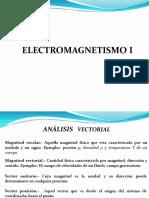 Unidad I Electromagnetismo I