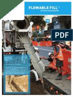 Flowable Fill Brochure