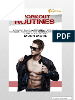 Workout Routines | The Ultimate Guide of Exercise and Workout Schedules