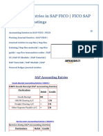 Accounting Entries in SAP FICO _ FICO S..