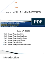 SAS Visual Analytics Training