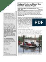 Dredging Begins on Ottawa River Sediment Cleanup Project
