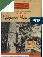 M.G.O. No 10 Feb 1944