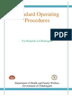 Standard Operating Procedures for Hospitals in Chhattisgarh