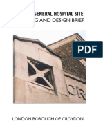 croydon general hospital site planning and design brief.pdf