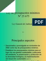 Ley General Del Ambiente LGA