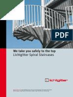 Lichtgitter Spiral Staircases
