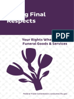 Paying Final Respects Your Rights When Buying Funeral Goods and Services