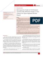 Retrospective Study of 710 Patients Treated with 4DDome® Mesh