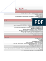 Institute Plan Planning Document