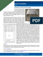 DIRCM Monitor System Fact Sheet