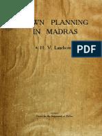 Madras Planning 1918