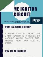 Flame Ignitor Circuit