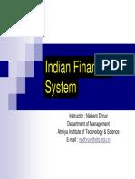 Finance Mfs Ifs Bharti Pathak