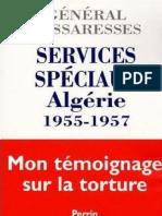 Aussaresses Paul - Services Speciaux Algerie 1955-1957