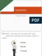 Computer Memories