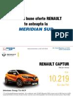 Oferta Renault Pj Octombrie