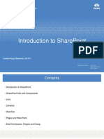 SharePoint Basics With Demos