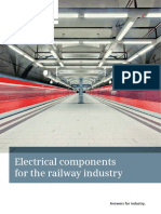 Electrical Component for Railways Industry