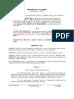Wifi Memorandum of Agreement DRAFT1
