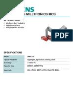 7MH7125 SIEMENS MILLTRONICS MCS BELT SCALE