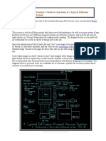 The Complete Dummy's Guide to Operation of a Typical Diffusion Pumped High Vacuum System