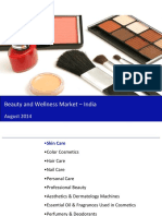 Report Beauty and Wellness Market in India