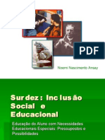 Surdez - Seminário da Pós Graduação - UFPR