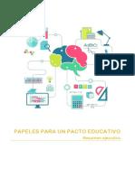 PAPELES PARA UN PACTO EDUCATIVO