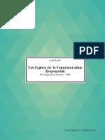 """Livre Blanc """" RSE Le Enjeux de La Communication Responsable"""""""