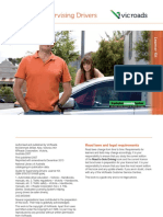Guide for Supervising Drivers English