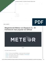 Megatutorial Meteor en Español (1) - El Framework Más Popular en Github _ JSJutsu