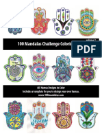 100 Mandalas Book