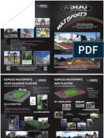 SDU présentation espaces multi sports city stade