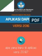 Pengenalan Dapodik Versi 2016