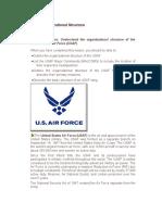 1 USAF Organizational Structure