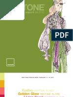 PANTONE Fashion Color Report Fall 2010