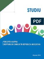 PERCEPŢII ASUPRA DREPTURILOR OMULUI ÎN REPUBLICA MOLDOVA