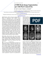 evelopment of MRI Brain Image Segmentation- technique with Pixel Connectivity