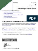 Configuring a Solaris Server